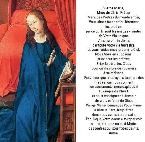 vox in deserto abbé Martin mois de Marie Mensis marialis