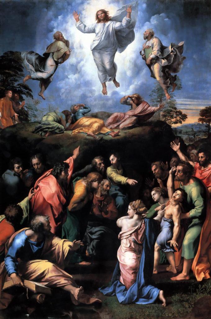 L'attribut alt de cette image est vide, son nom de fichier est Transfiguration_Raphael-1-679x1024.jpg.